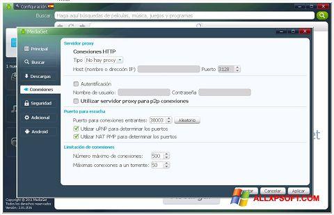 Скріншот MediaGet для Windows XP