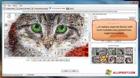 Скріншот Photo Collage Maker для Windows XP