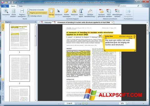 Скріншот Nitro PDF Reader для Windows XP