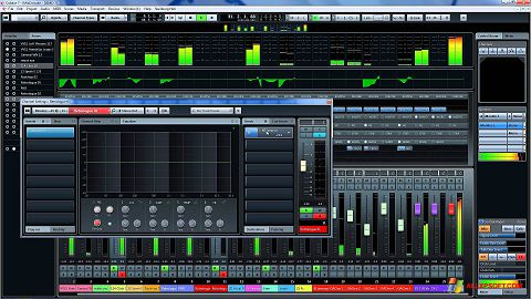 Скріншот Cubase для Windows XP
