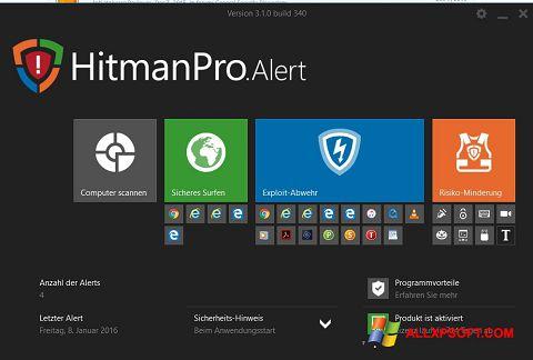 Скріншот HitmanPro для Windows XP