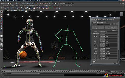 Скріншот Autodesk Maya для Windows XP