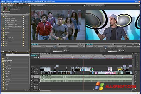 Скріншот Adobe Premiere Pro для Windows XP