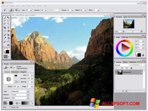 Скріншот Artweaver для Windows XP