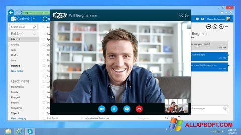 Скріншот Skype для Windows XP