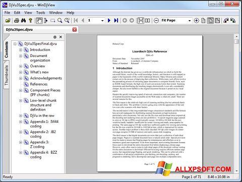 Скріншот WinDjView для Windows XP